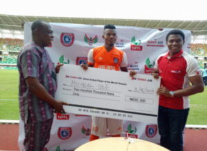 Photo of Ibe, Wassa Scoop Dana Air Player of the Month Award