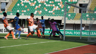 Photo of FIRST CAREER HAT-TRICK EXCITES EFFIONG ___dedicates goals to daughter