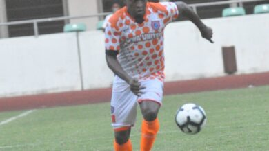 Photo of NDIFREKE EFFIONG'S GOAL NOT ENOUGH TO FETCH AKWA UTD VICTORY
