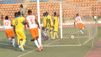 Photo of MFON UDOH'S SPECTACULAR GOAL SECURES FIRST AWAY WIN FOR AKWA UTD