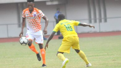 Photo of FIRST NPFL GOAL EXCITES MORICE CHUKWU